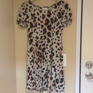 Nom de Plume by Yaya Animal Print Dress
